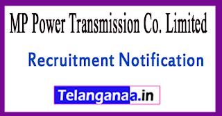 MP Power Transmission Co. Limited MPPTCL Recruitment Notification 2017 Last Date 02-08-2017
