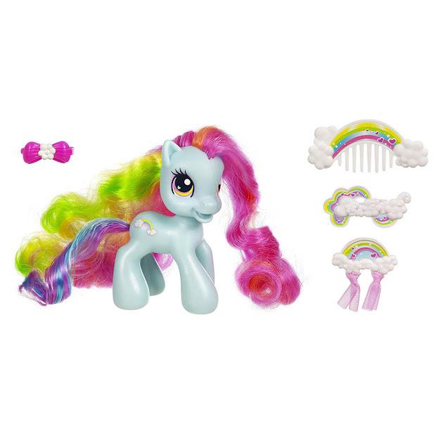 mlp 2009 super long hair ponies