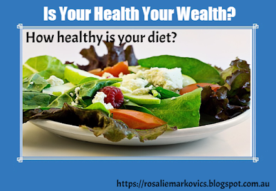 How healthy is your diet?-try eating at least one healthy meal a day