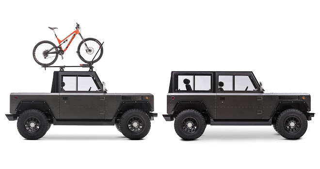 Bollinger Motors B1 in SUV and pickup configurations