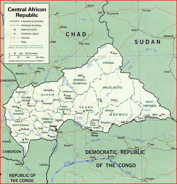 image: Map of Central African Republic
