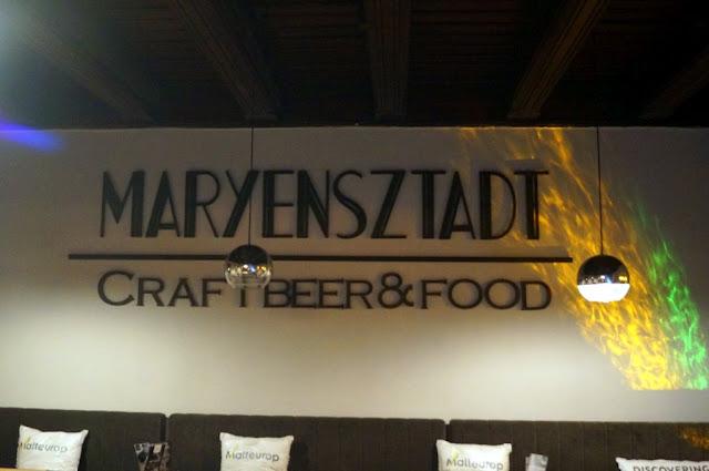 Maryensztadt Craft Beer & Food, czyli smakowity foodpairing w Warszawie