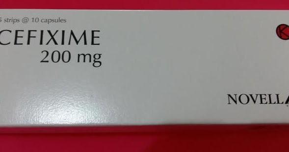Obat CEFIXIME: Manfaat, Fungsi & Efek Samping Tablet dan Sirup