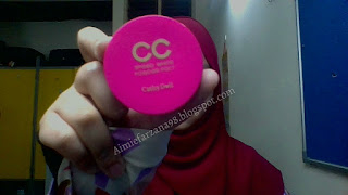 Review cathydoll CC speed powder pact ( MELAYU )
