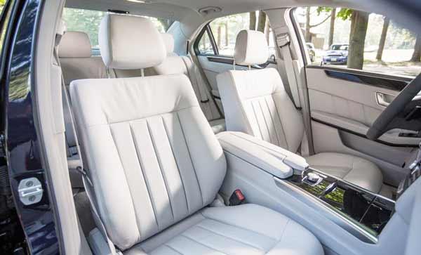 2016 Mercedes Benz E350 Sedan Interior