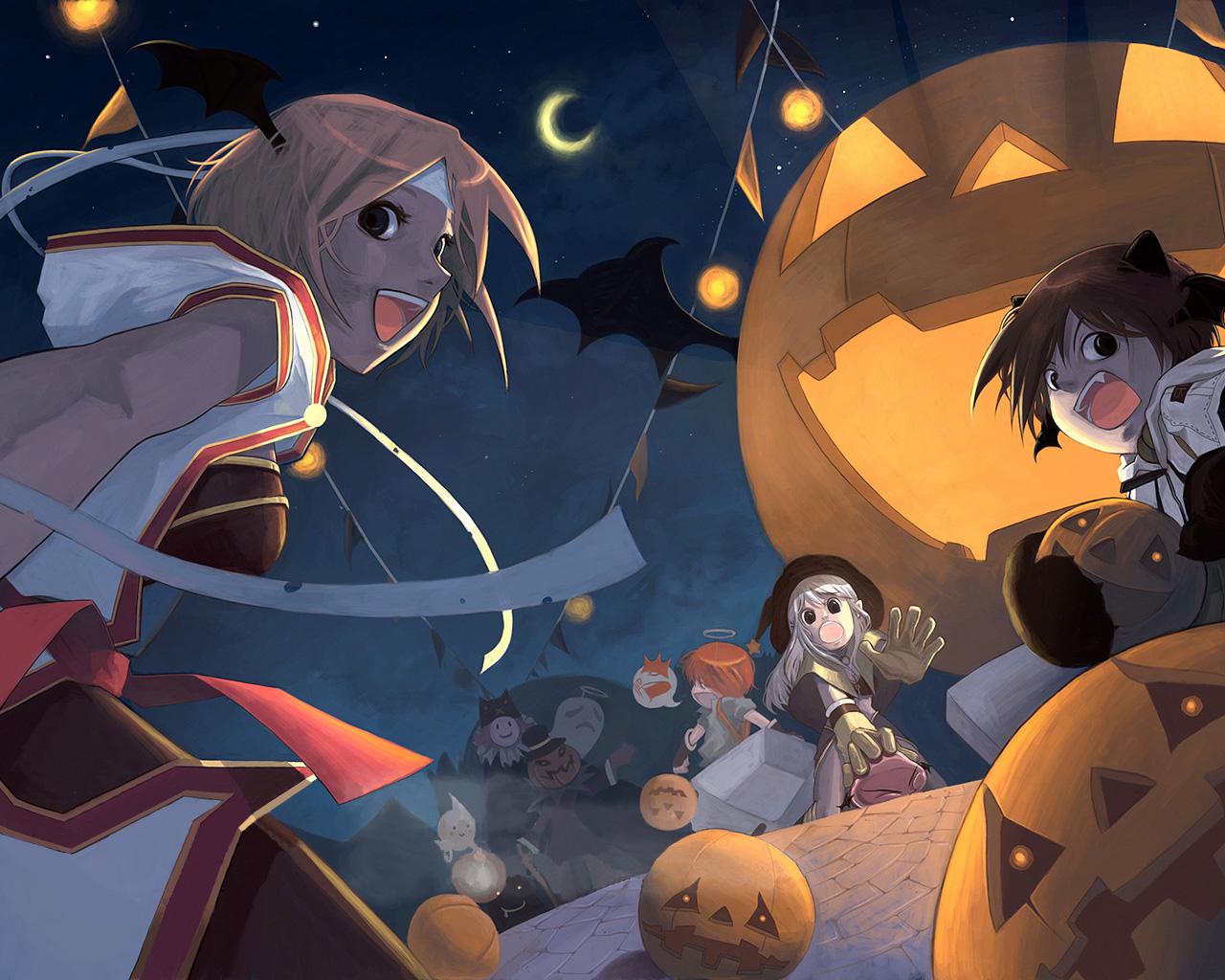anime halloween girl - photo #25