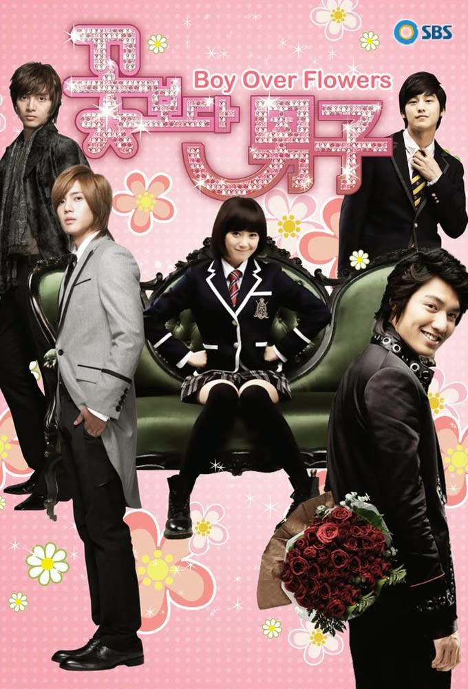 Boys Before Flowers Lee Min Ho, Boys Over Flowers Geum Jan Di 2009, best most popular kdrama 2009 drama withdrawal syndrome