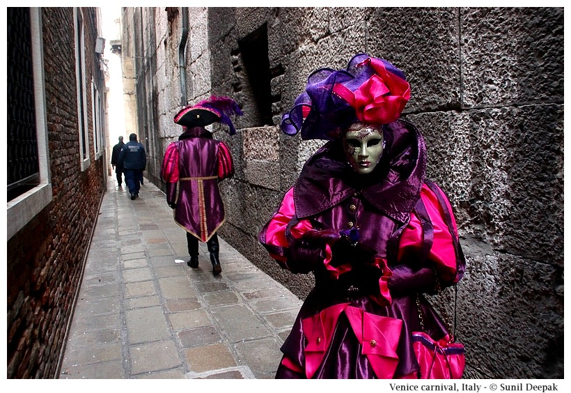 Venice carnival, Italy - Images by Sunil Deepak