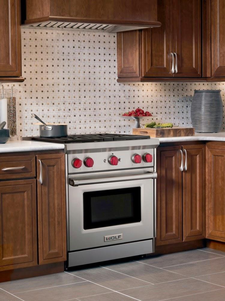 Muebles y decoraci n de interiores campanas wolf para cocinas - Campana de cocina ...