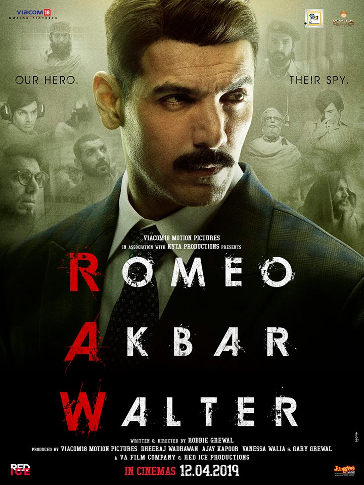 Romeo Akbar Walter Movie Poster, HD Photos