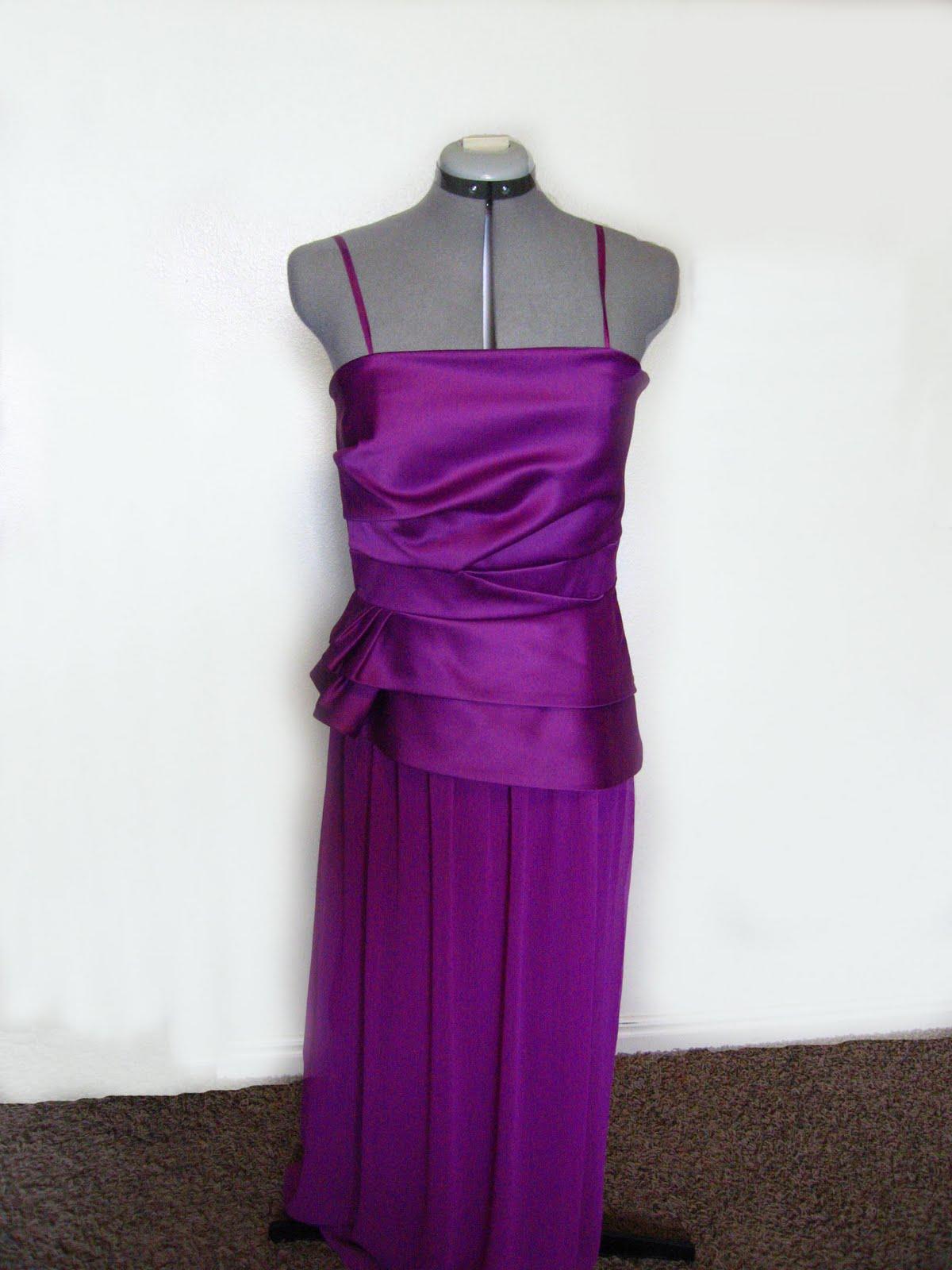 The Prom Dress (a mini tutorial) - Shwin and Shwin