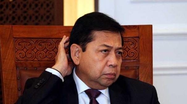 Novanto Diam Saja Saat Ditanya Hakim