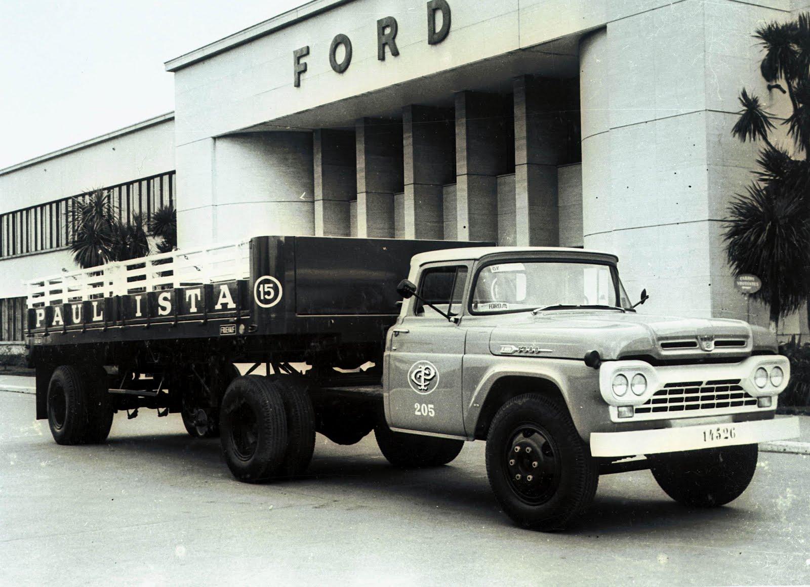 Antigos Verde Amarelo: Ford F-600 1962 ...