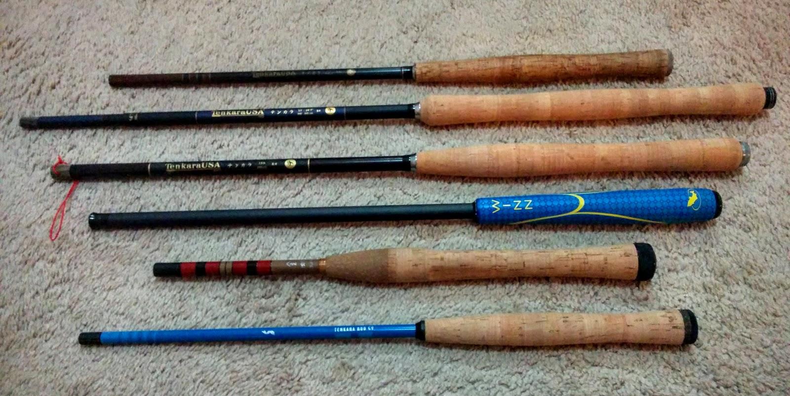Tenkara tuesday my fab five tenkara rods article tue for Tenkara fishing rods