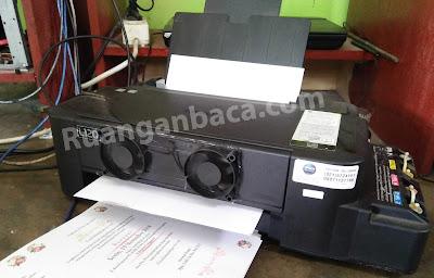 Cara memperpanjang Umur head dan mainboard printer epson