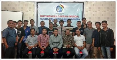 Arman Mandalon Terpilih Secara Aklamasi Sebagai Ketua DPD. AJO Indonesia - Jambi Periode 2018 - 2022 Dalam Musda