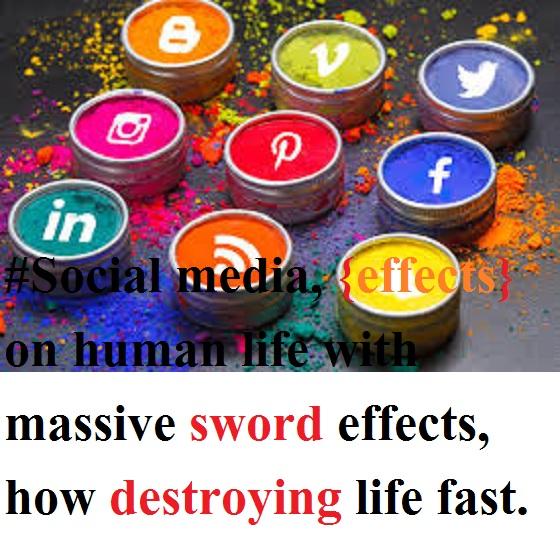 social media effect on relationships.