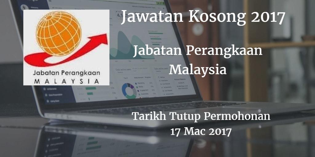 Jabatan Perangkaan Malaysia 17 Mac 2017