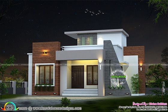 22 lakhs cost estimated house plan kerala home design and floor plans for Kerala home designs and estimated price