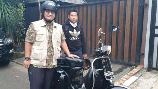 Ramai Soal Vespa Dahnil, Samsat Solo: Pajaknya Telat 4 Tahun 9 Bulan