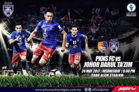 Live Streaming Keputusan PKNS FC Vs JDT Liga Super 24 Mei 2017