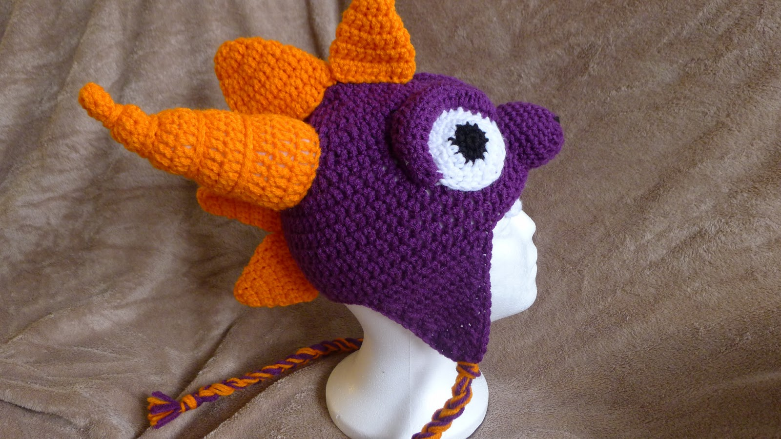 Ravelry: Spyro and Ember Inspired Dragon Amigurumi Pattern pattern ... | 900x1600