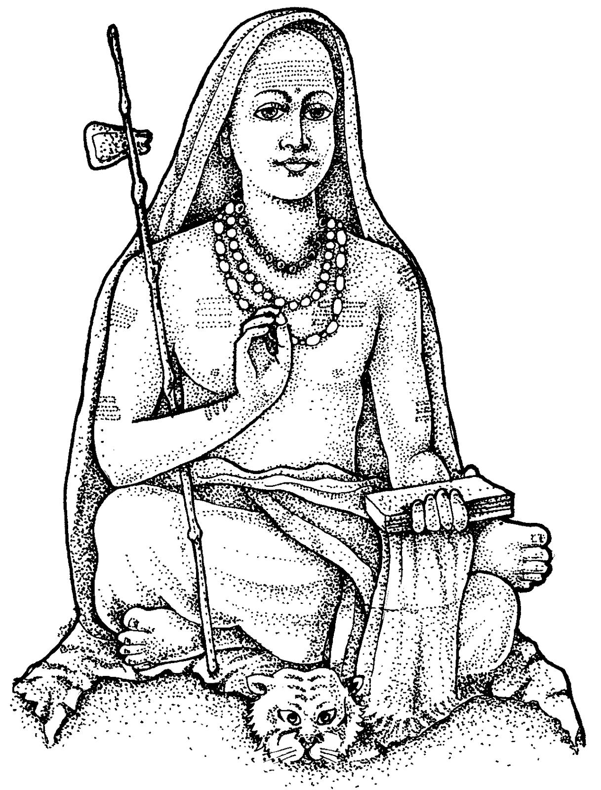 Tamil Cliparts: Spiritual Personalities ( Samiyarkal )