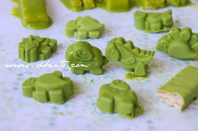 how to make kitkat green tea