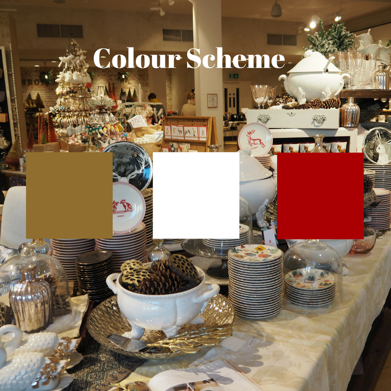 Use of 3 colours