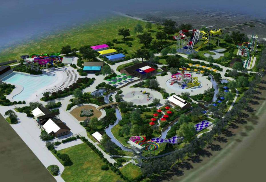 Newsplusnotes New Water Park Typhoon Texas Opening In