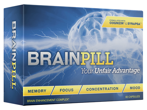 Brain Pill, Boost Memory, Increase Cognitive Skills, Eliminate Brain Fog and More!