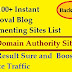 Instant Approval High DA PA Dofollow Backlink Sites || Boost BlogsTraffic
