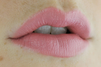 Harlotte Lipstick in Peak-a-Boo lip swatch