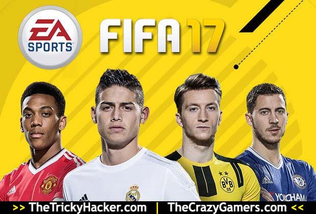FIFA 17 Free Download Game + Crack