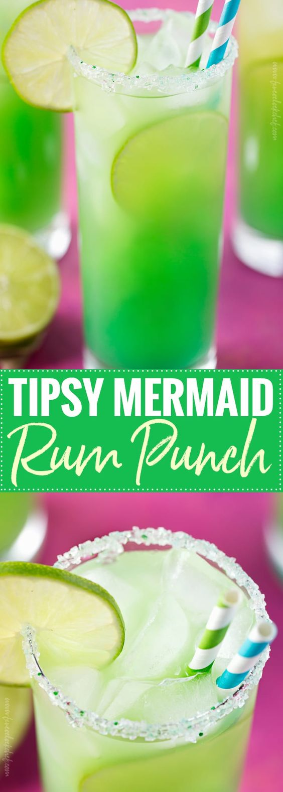 Tipsy Mermaid Rum Punch