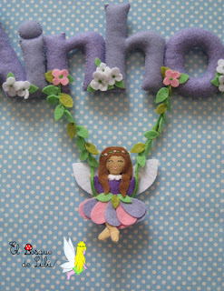 nombre-fieltro-hada-mariposa-elbosquedelulu-Ainhoa-regalo-nacimiento-babyroom-name-banner-felt-feltro-hechoamanoparati