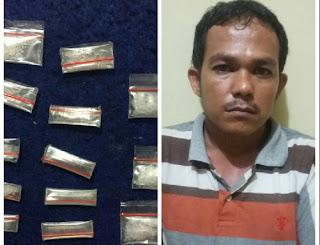 13 Paket Sabu Gagal Beredar
