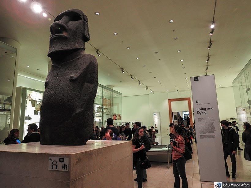 Amoai - Seção das Américas no Museu Britânico em Londres
