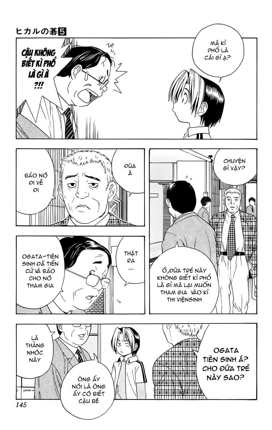 Hikaru No Go hikaru no go chap 41 trang 11