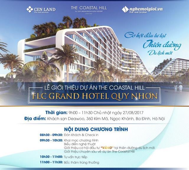 Thư mời tham dự lễ giới thiệu dự án The Coastal Hill