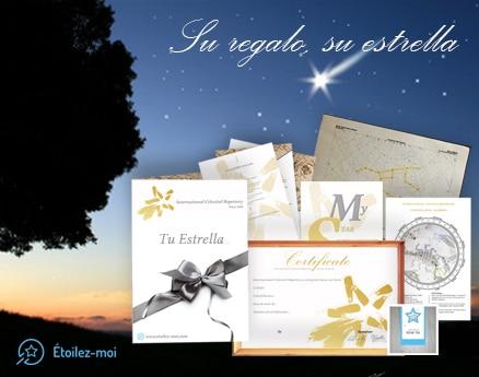 """¡Una Estrella ha Nacido! Haz un Regalo Bonito y Eterno con """"Etoilez-Moi"""""""