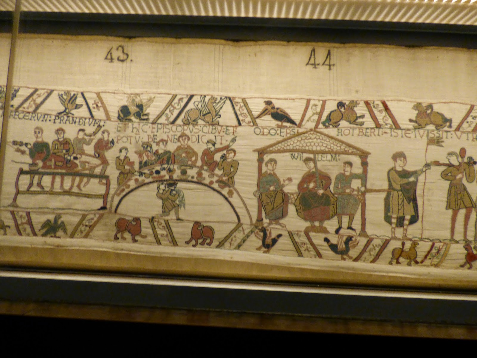 Travelling with Maveling: The Bayeux Tapestry.
