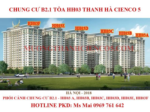 Chung cư B2.1 Thanh Hà Cienco 5