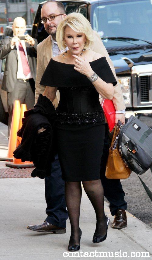0c45bce578 Joan Rivers with her Gold 40cm Birkin