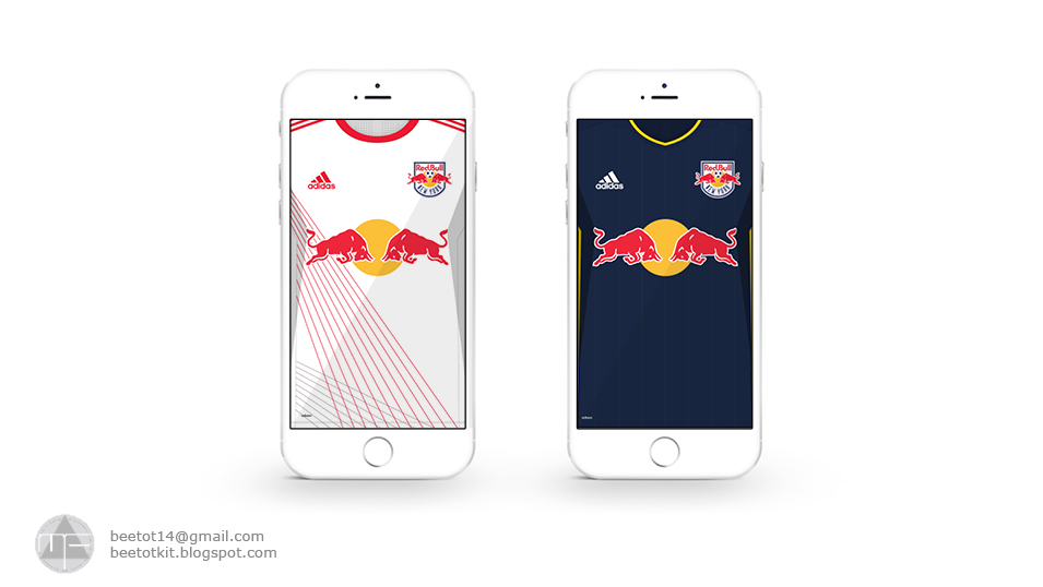 Beetot Kit New York Redbulls Kit 2017 Iphone 7 Wallpaper