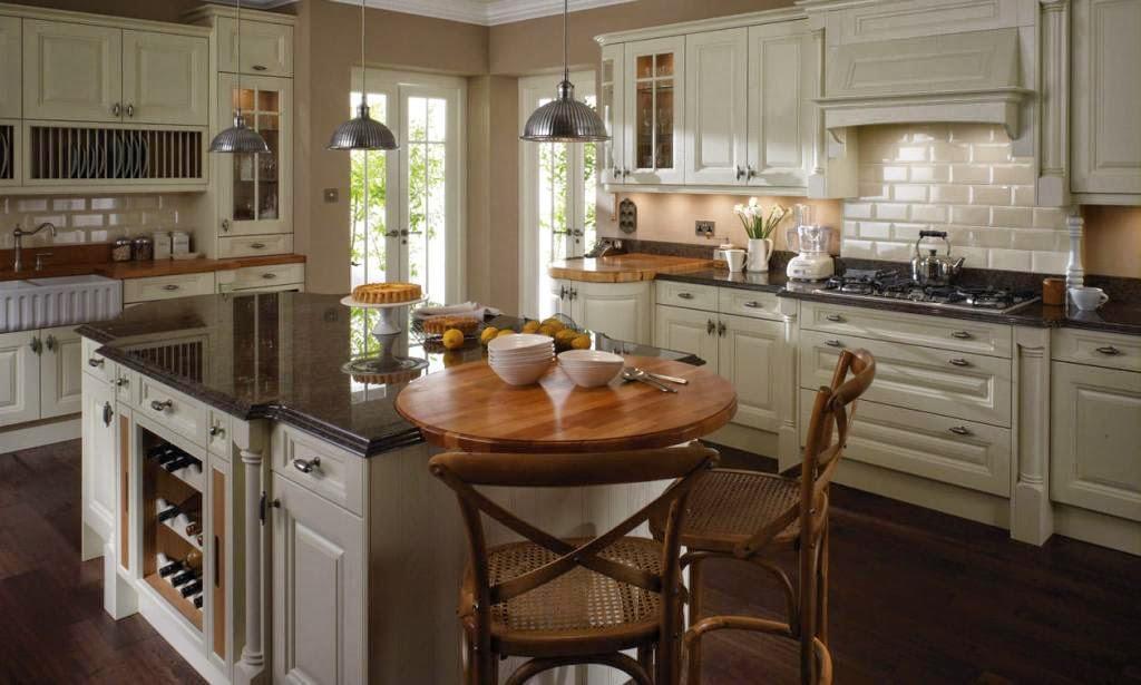 30 modelos de mesas y barras para cocinas de todos los for Mueble barra cocina