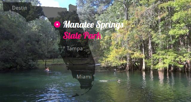 Manatee Springs State Park , Florida USA