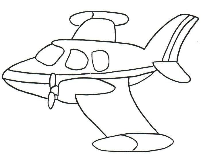 O Mundo Colorido: Desenhos De Aviões Para Imprimir E Colorir