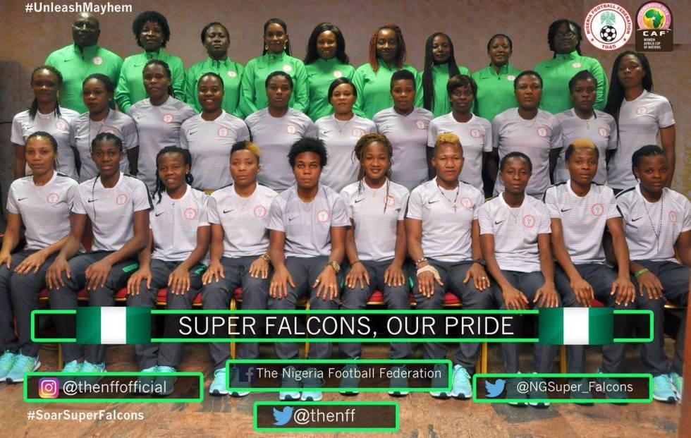 Nigerias Super Falcons Beat South Africa 1-0, Qualify For