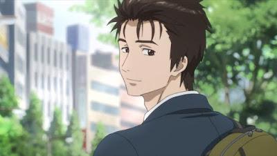 Karakter izumi shinichi pada anime Kiseiju No Kakuritsu bagus